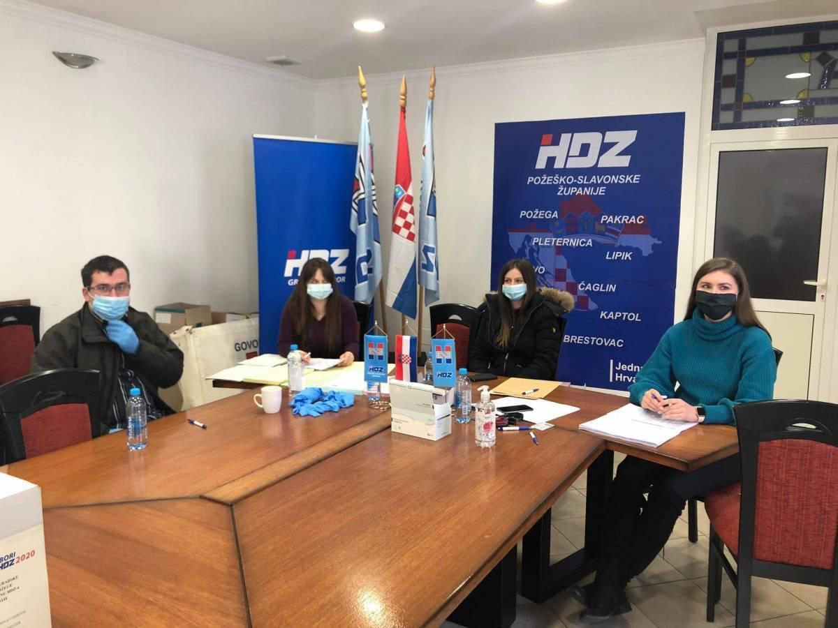 Požeški HDZ imenovao 11 novih članova povjerenstva