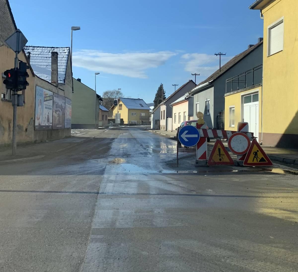 Dio Frankopanske mjesecima zatvoren za promet unatoč tome što se radovi ne odvijaju