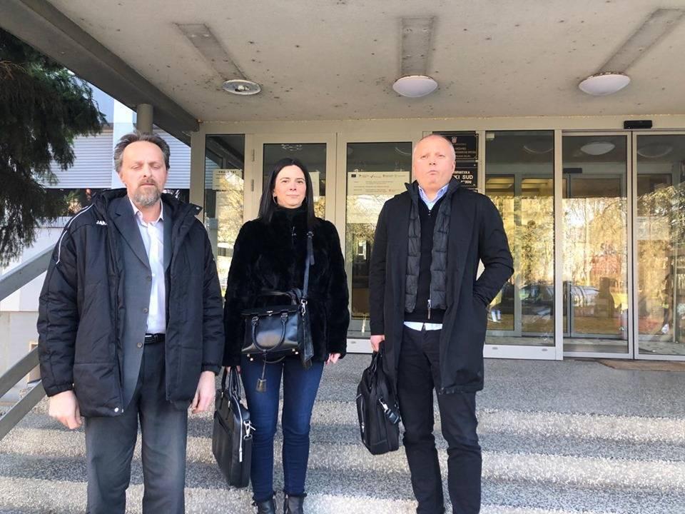 ʺDRAMAʺ NA BRODSKOM SUDU: Bašićev odvjetnik tražio prekid rasprave jer je Duspara rekao da je sud ʺlakrdijaʺ