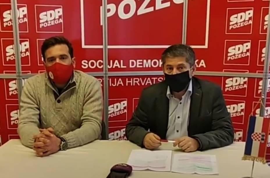 SDP Požega: Potpisivanje peticije Zatrubi za odlazak
