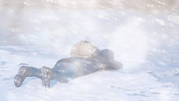 Zimska služba pronašla smrznuto tijelo