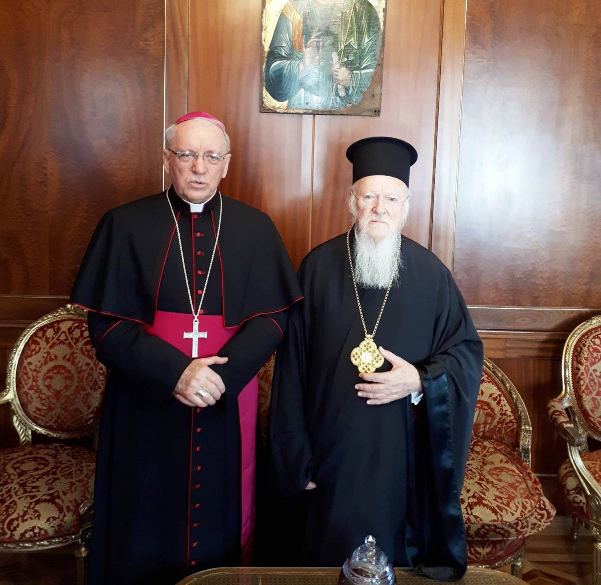 Ekumenski patrijarh Bartolomej čestitao Božić biskupu Škvorčeviću