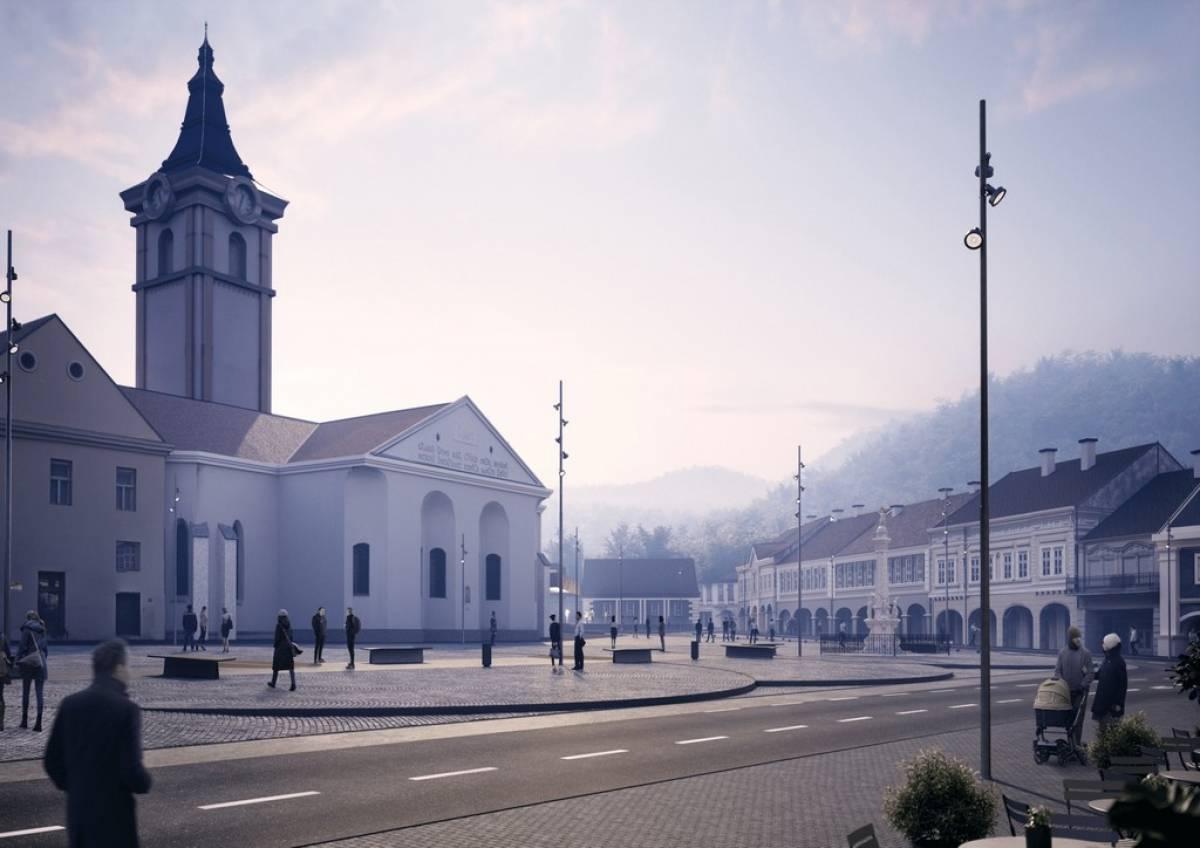 Branko Matić: SOS za požeški trg- Trgu Sv. Trojstva prijete arhitektonske improvizacije