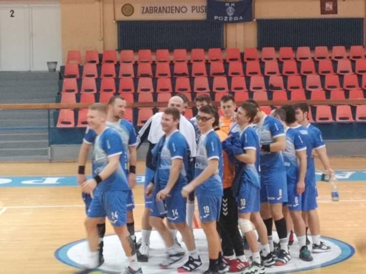 Rukometaši Požege dobili utakmicu protiv Županje bez borbe i plasirali se u 2. kolo Kupa regije Istok