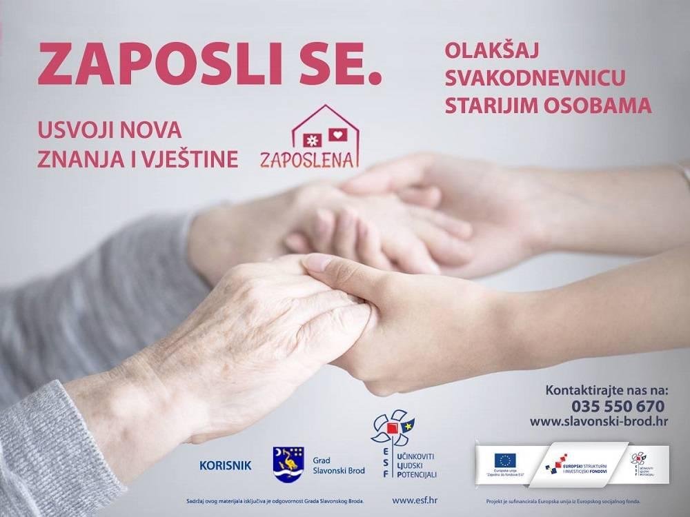 """Grad Slavonski Brod započinje s drugom fazom projekta """"Zaposlena"""""""