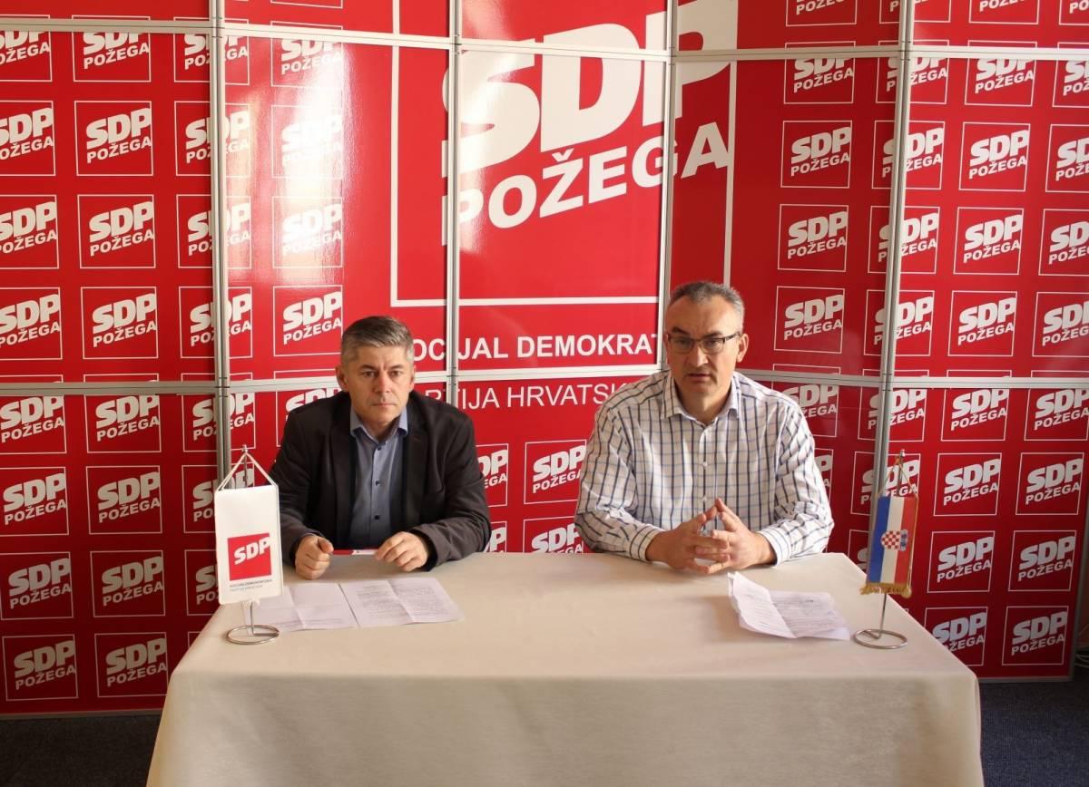 SDP Požega održao tiskovnu: Požega treba stručnjake, a ne stranačke uhljebe