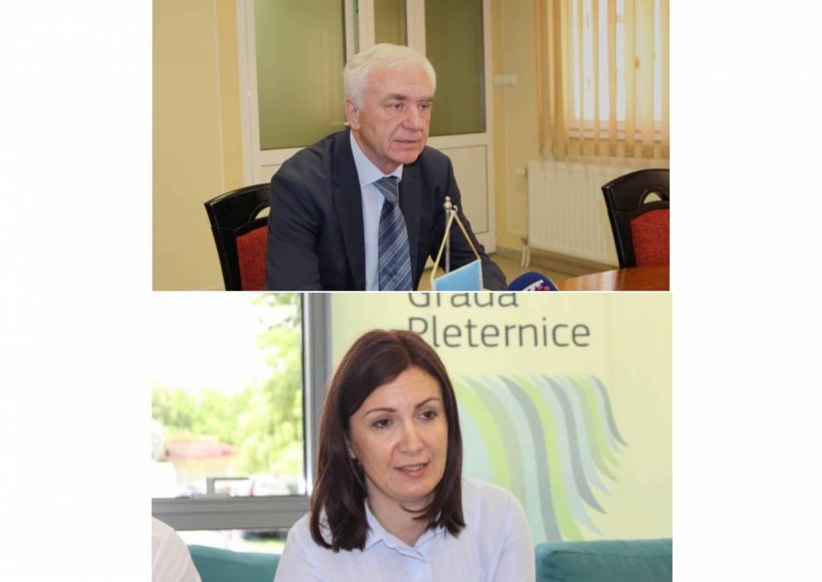 Potvrđeni kandidati HDZ-a: Antonija Jozić za županicu, a prof. dr. sc. Željko Glavić za gradonačelnika Požege