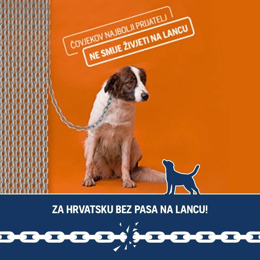 Pokrenuta peticija za zabranu držanja pasa na lancu