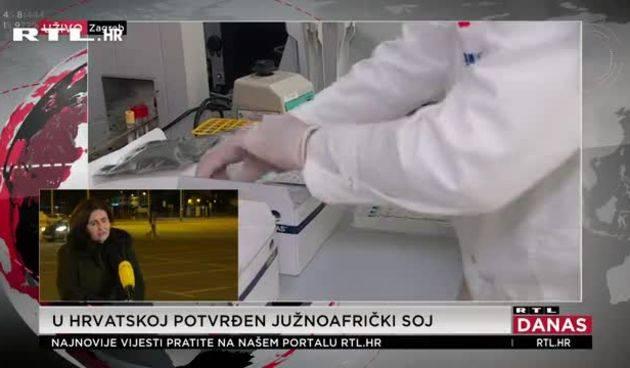 Južnoafrički soj korona virusa u Hrvatskoj: ʺUspješno izbjegava imunosni odgovor našeg sustava''