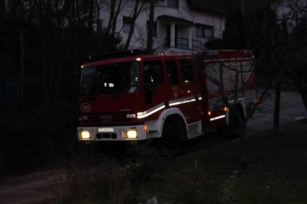 Požar gospodarske zgrade u Pavlovcima