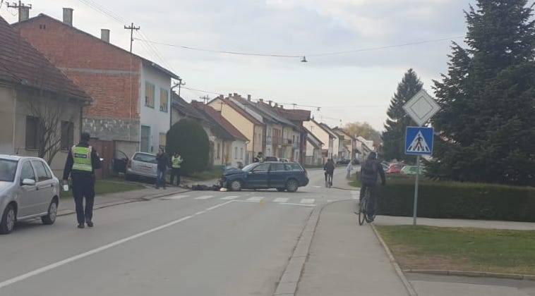 KRŠ I LOM: Prometna nesreća u Požegi, vozače odvezla Hitna pomoć
