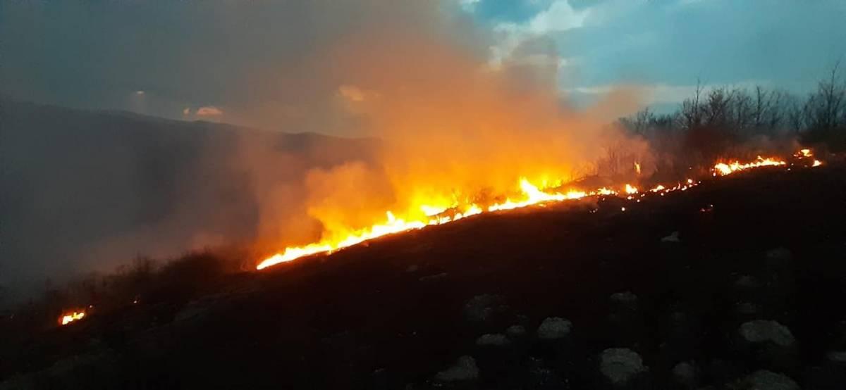 Oprez pri spaljivanju korova: Vatrogasci DVD-a Brestovac zadnjih dana imaju pune ruke posla