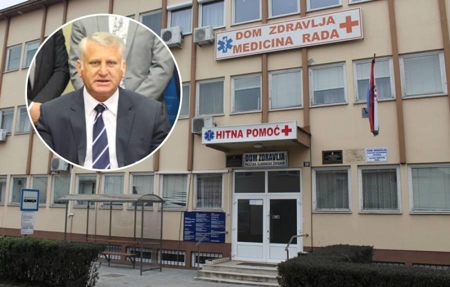 Skinuto s dnevnog reda: Snaha Franje Lucića za sada ostaje bez prava na zakup poslovnog prostora u Domu zdravlja Požeško-slavonske županije