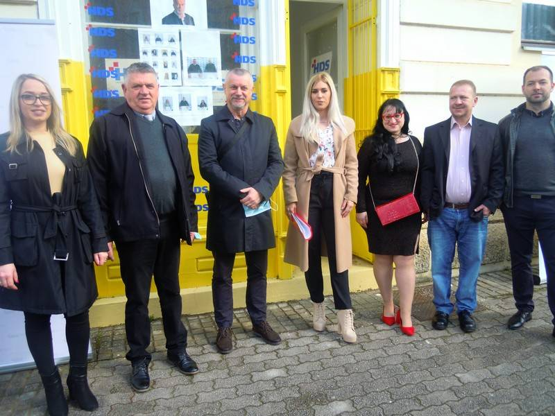 Predstavljeni kandidati HDS-a u Novoj Gradiški
