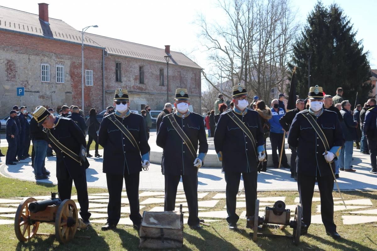 Veliko priznanje: Pečat Grada Pakraca dodijeljen Gradskoj straži Požega
