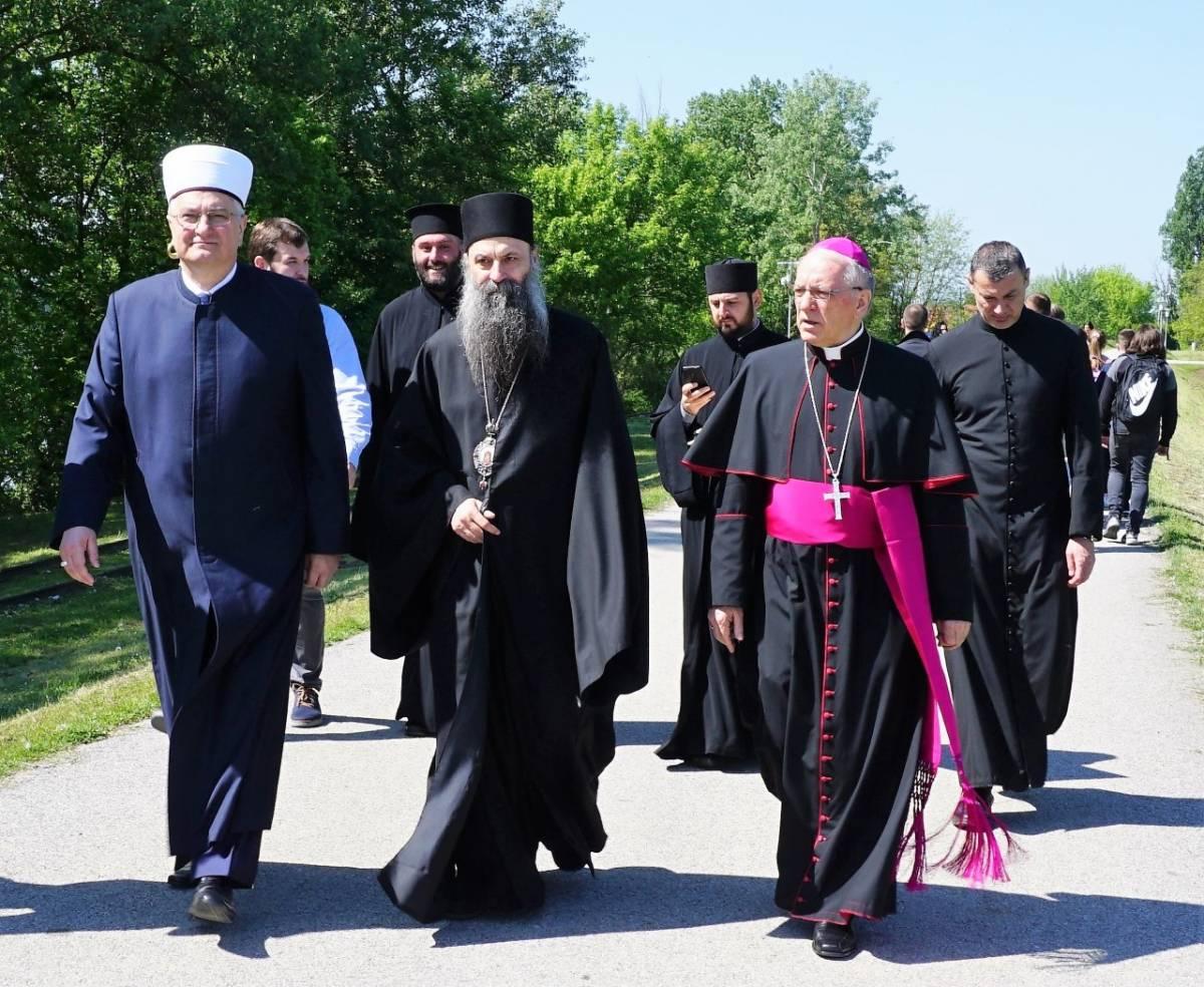 Međureligijska molitva u Jasenovcu