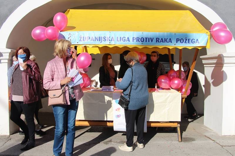 Županijska liga protiv raka Požega organizira prijevoz za žene na snimanje (mamografiju)