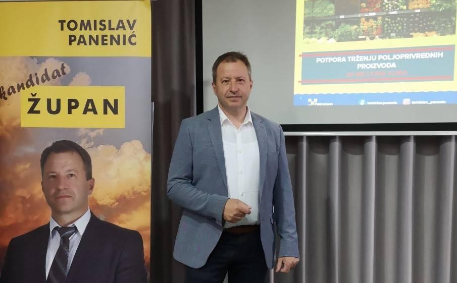 Tomislav Panenić predstavio izborni program ʺPametna Vukovarsko-srijemska županijaʺ