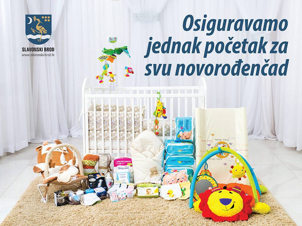 GRAD SLAVONSKI BROD: Osiguravamo jednak početak za svu novorođenčad