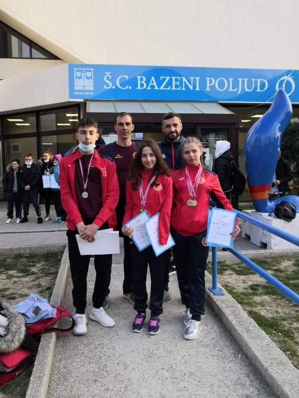 Veliki uspjeh plivača/ica na Otvorenom prvenstvu Hrvatske u paraplivanju