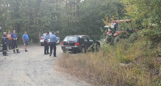 PROMETNA NESREĆA: Pijani traktorist udario automobil