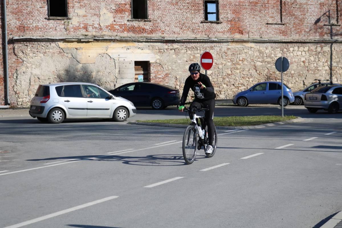 Biciklom od Lepoglave do Pakraca u spomen na oca