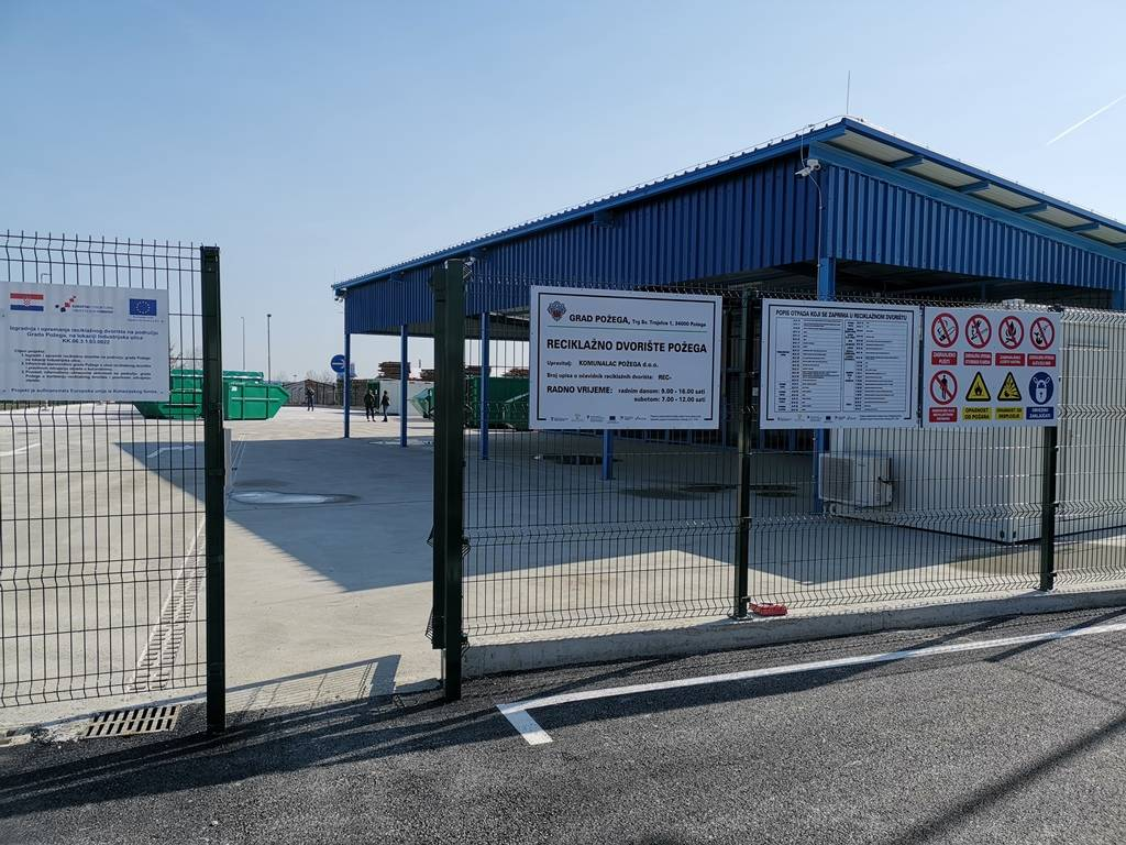 Reciklažna dvorišta u Požegi, Velikoj i Jakšiću privremeno su zatvorena