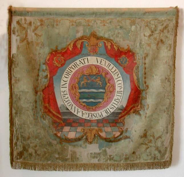 Gradski muzej Požega čuva Županijsku zastavu dragovoljaca iz 18. st
