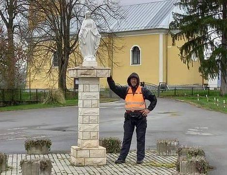 Ivan Šedevi  ponovo pomiče granice izdržljivosti i upornosti, u novom pješačkom pothvatu propješačio gotovo 200 km
