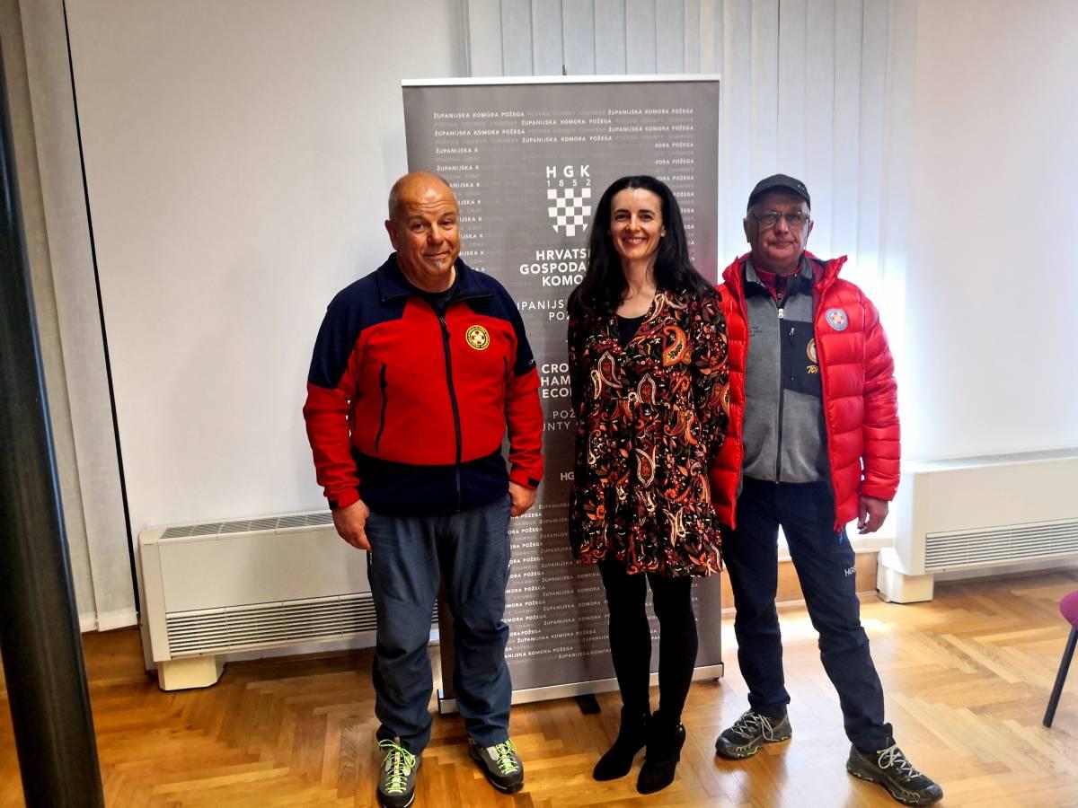 HPD Gojzerica: U Požegi održana Edukaciji za nositelje i organizatore turističkih sadržaja u prirodi