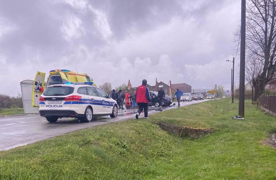 DETALJI TEŠKE PROMETNE: Mladić prevezen u zagrebačku bolnicu