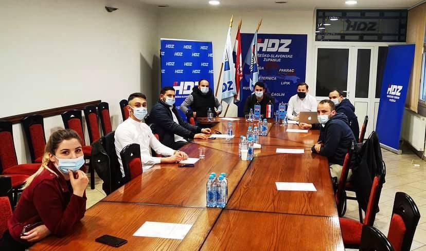 Osnovano Povjerenstvo Mladeži HDZ-a za Kutjevo