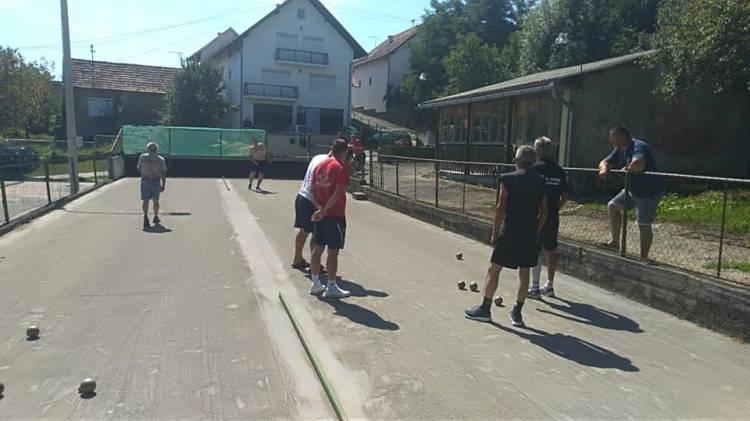 Boćarski klub Smrik (Golobrdci) u 9. kolu Međužupanijske lige Slavonije i Baranje poražen od BK Brlićka (Slavonski Brod)