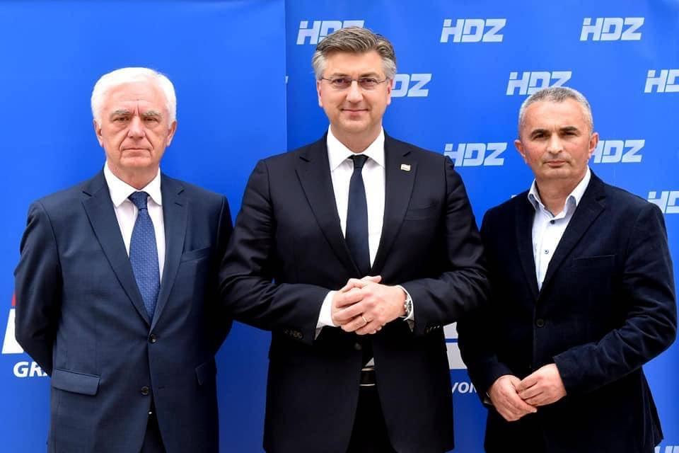Predsjednik HDZ-a Andrej Plenković posjetio Požegu: Uvjeren sam kako ćemo ostvariti stopostotni rezultat kao i 2017. godine