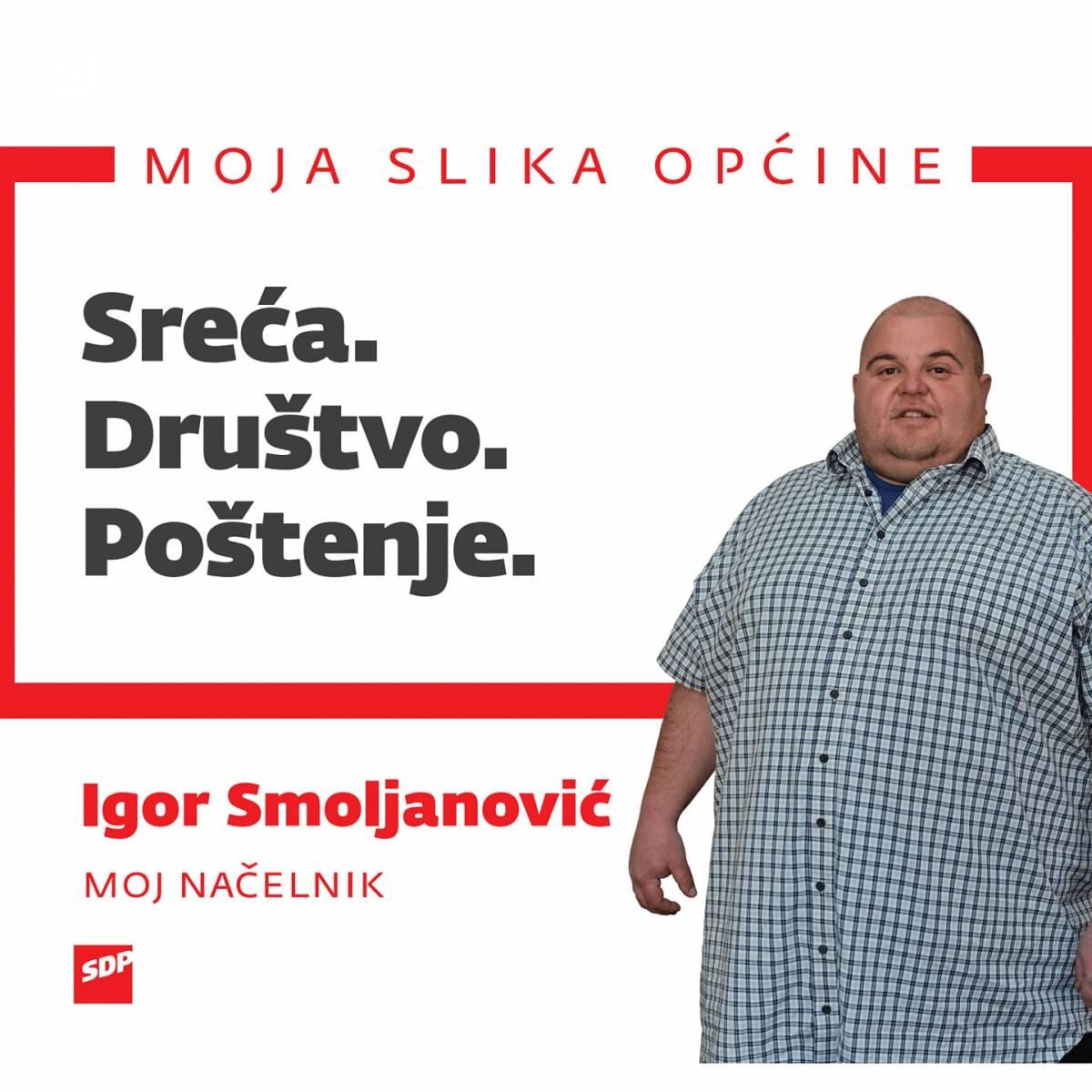 Igor Smoljanović: SDP-eov kandidat za načelnika Općine Brestovac