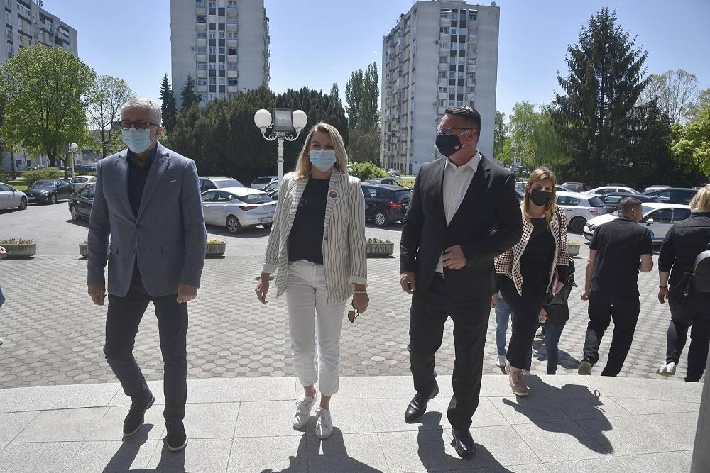 Ministrica Brnjac posjetila Sl. Brod