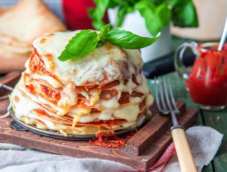Lazanje od palačinki: Trik za najbrži ručak ili večeru za jednu osobu