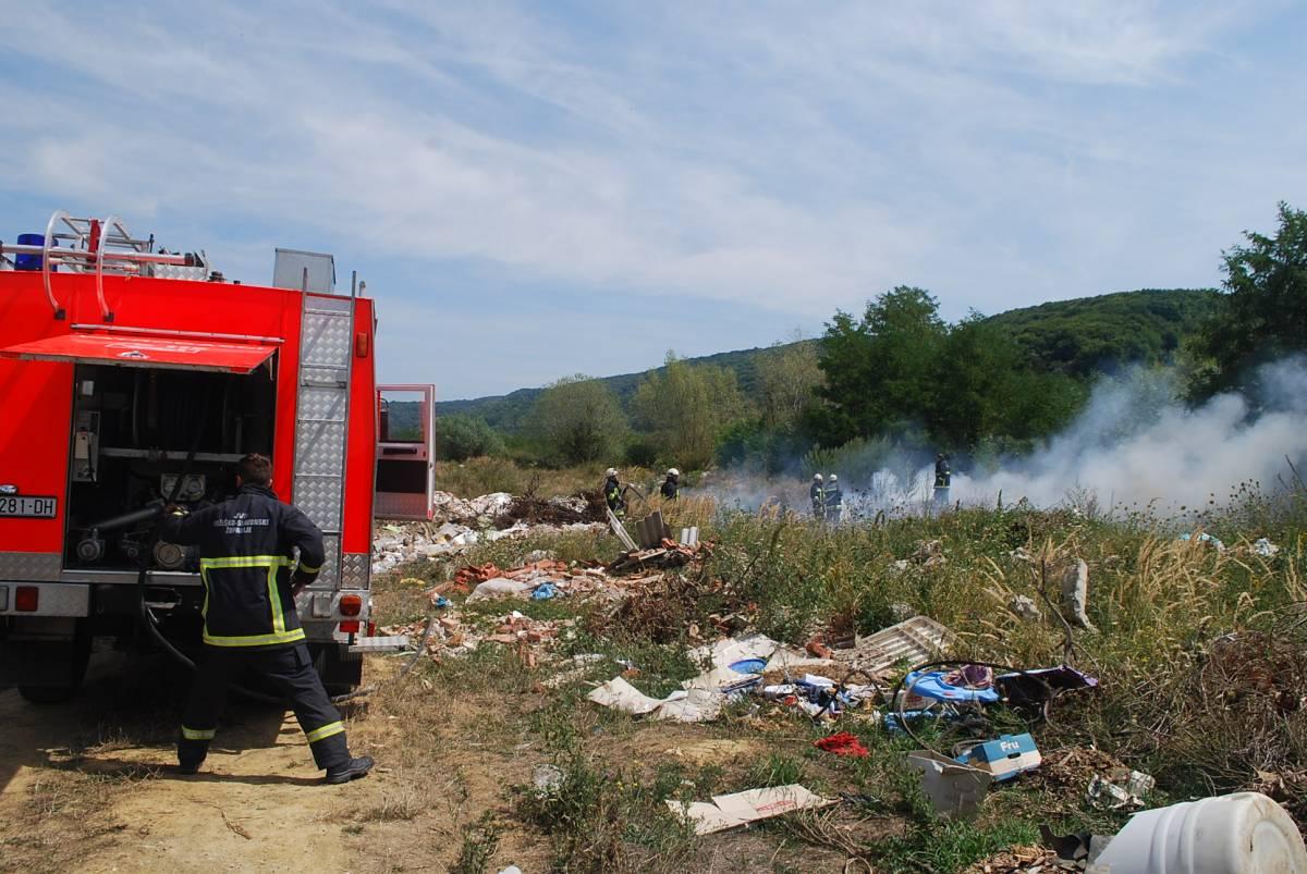Vatrogasne vježbe pod epidemiološkim mjerama