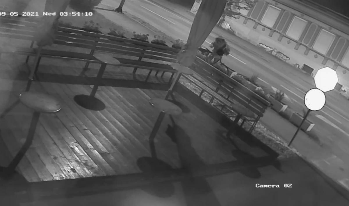 JUTROS KRAĐA U SL. BRODU: Kamere su sve zabilježile! Vlasnik kafića moli pomoć