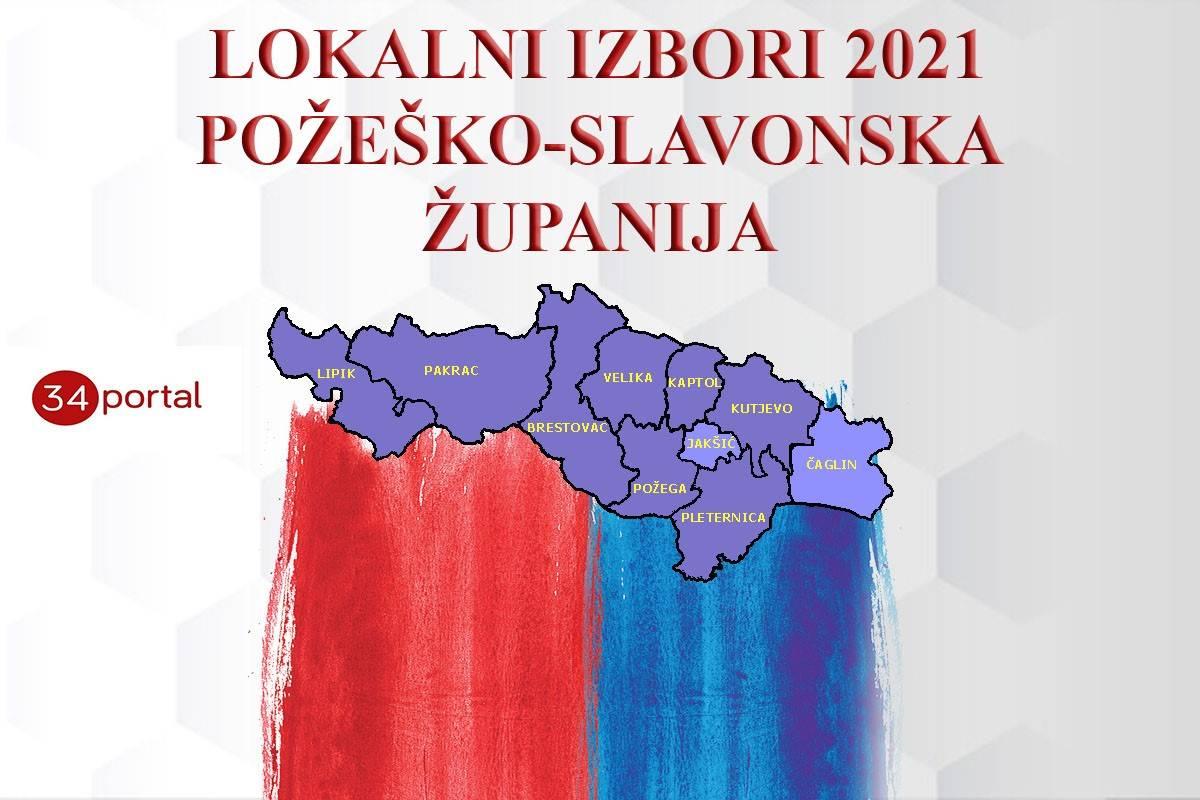 LOKALNI IZBORI: Evo za koga ste sve glasali u Požeško-slavonskoj županiji