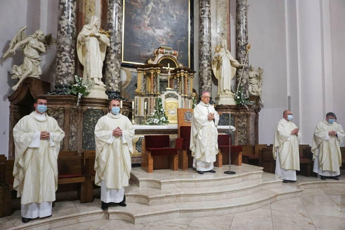 Svetkovina Gospodinova uzašašća u požeškoj Katedrali