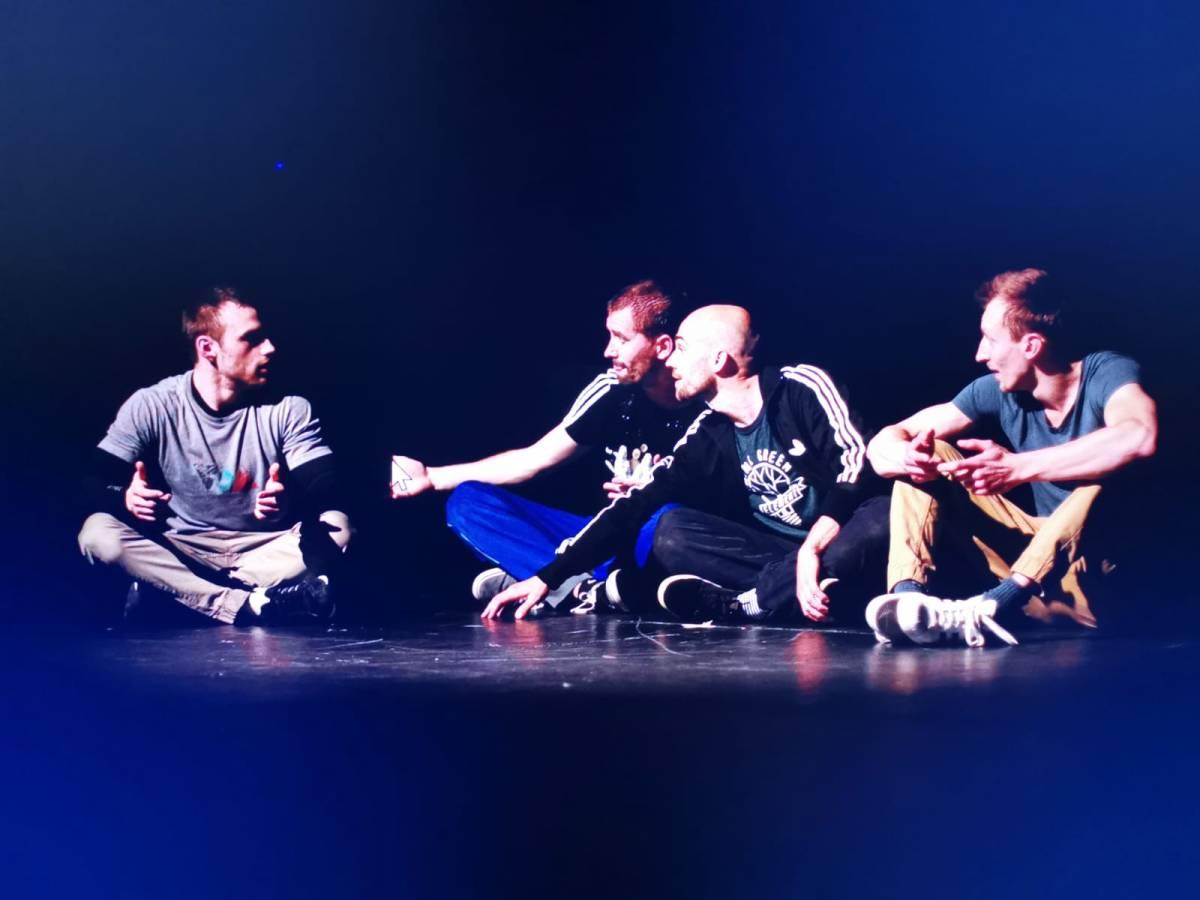 Najava dviju plesnih predstava u sklopu projekta ʺSvi na plesnu predstavuʺ Umjetničke organizacije Plesna radionica Ilijane Lončar