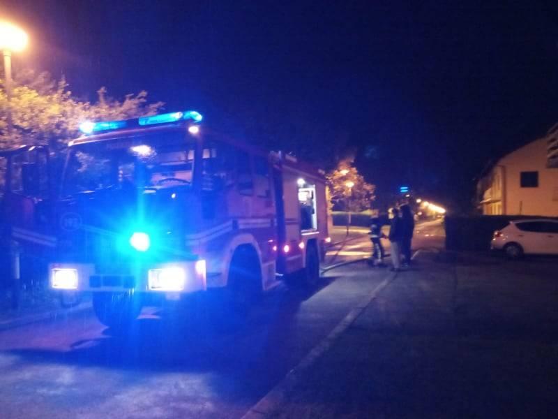Utvrđuju se okolnosti sinoćnjeg požara na Sajmištu