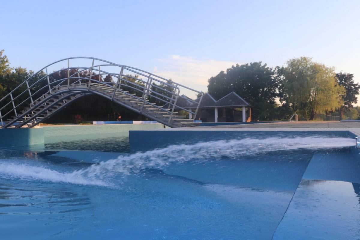 Započelo je punjenje lipičkih bazena