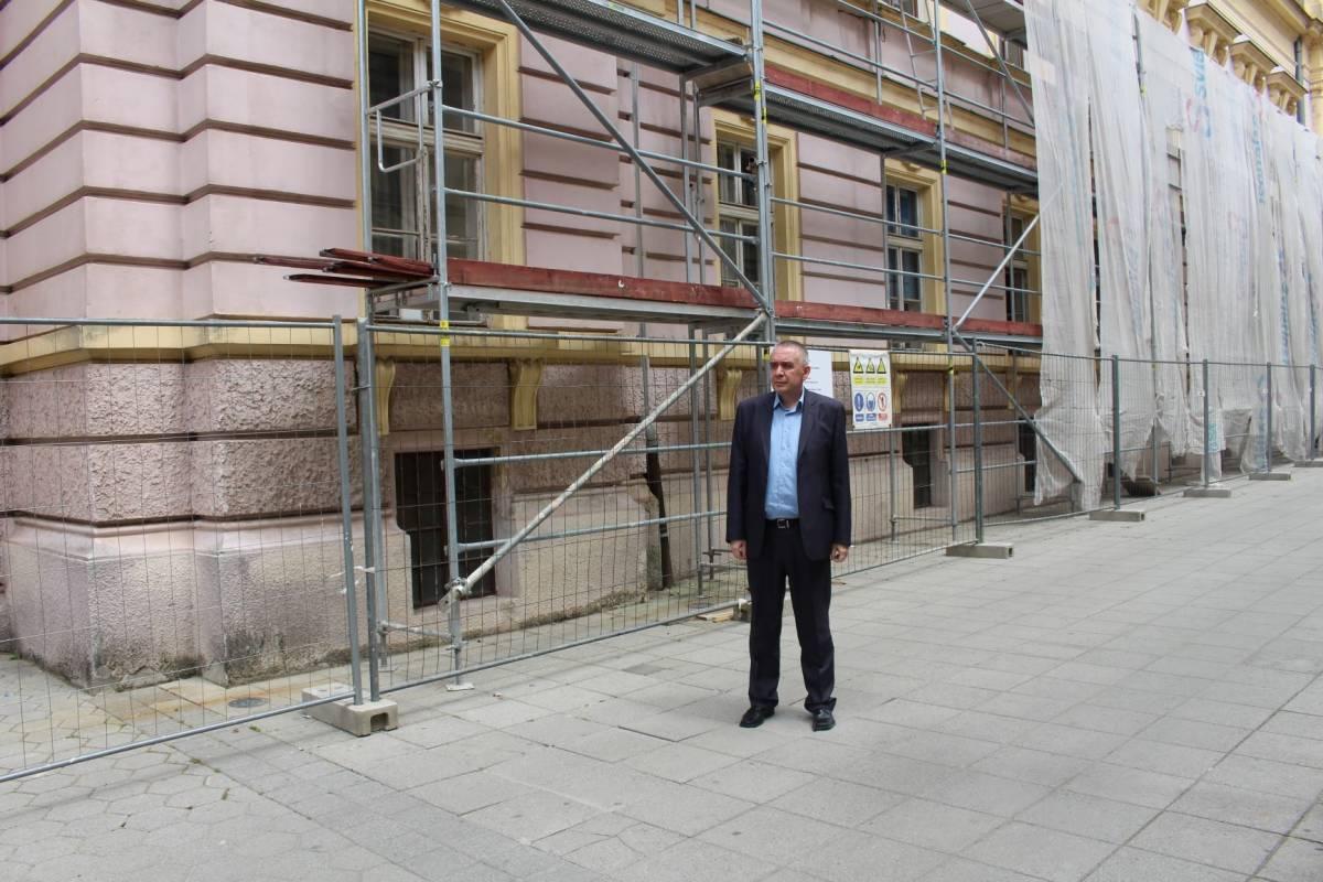 Započela obnova zgrade Suda- požeška ljepotica dobiva novo ruho