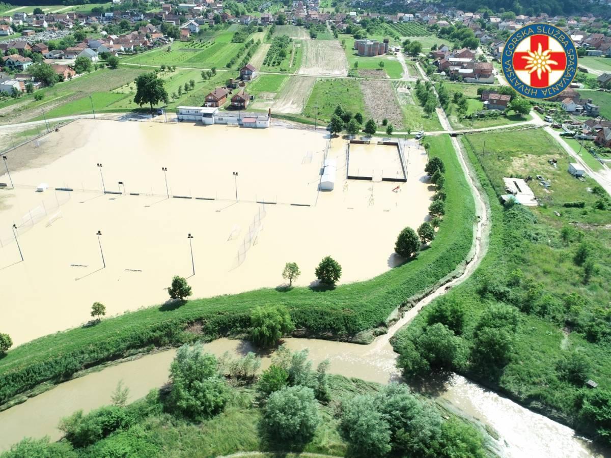 PROGLAŠENA PRIRODNA NEPOGODA Prijava štete zbog poplave do petka 18. lipnja