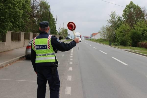 Najava pojačanih mjera u prometu