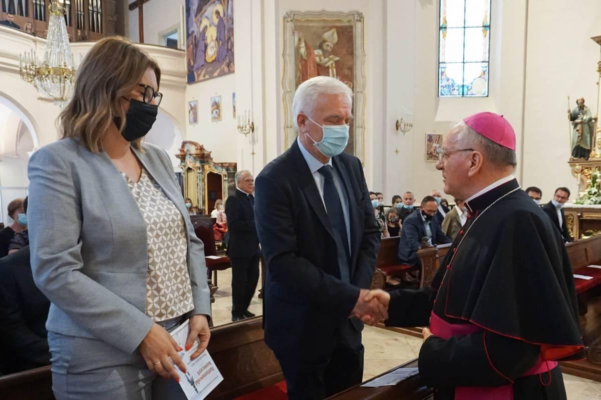 Predstavljanje nove biskupove knjige ʺRiječ Božja nije okovana- Pisma, poruke i homilije u vrijeme pandemije koronavirusaʺ