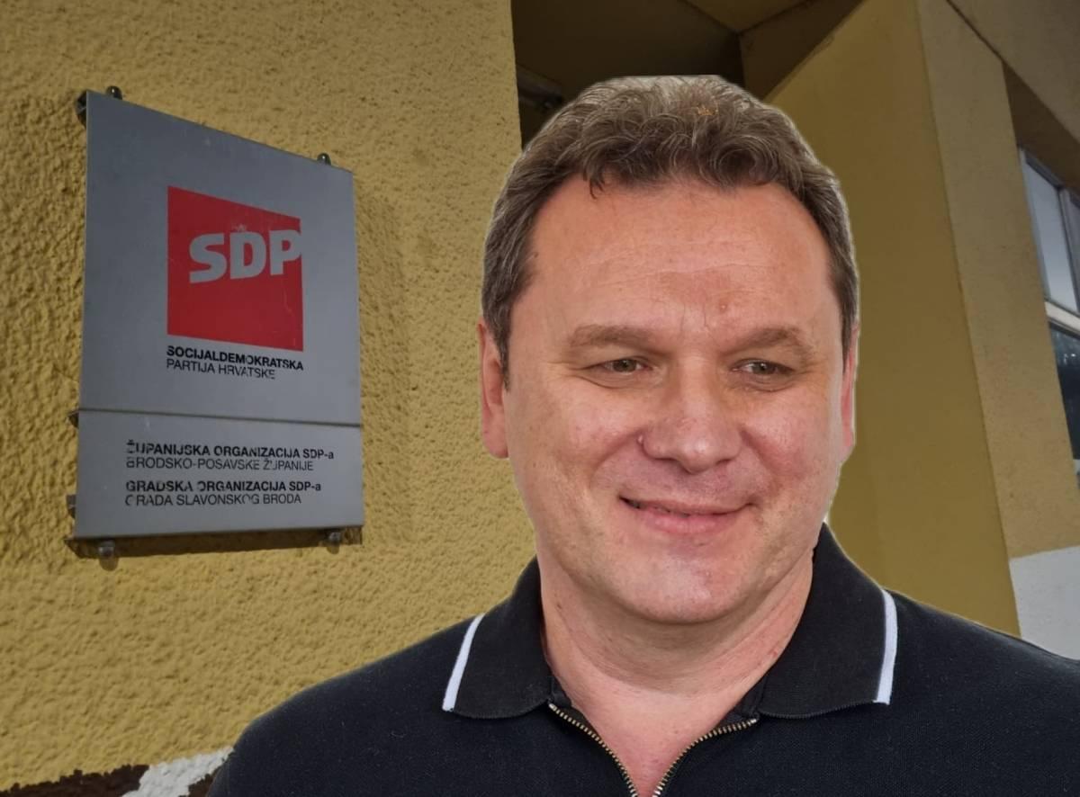 STRANKA JE SPAŠENA! SDP u Sl. Brodu napokon izašao iz kandži Stribora Valente