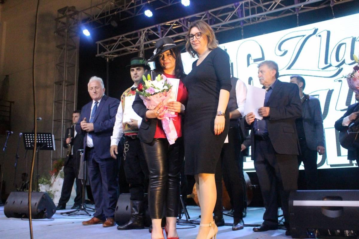 Pobjednica Zlatnog glasa zlatne doline je Pleterničanka Ana Baketarić